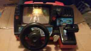 Rare 1985 dashboard driving game!