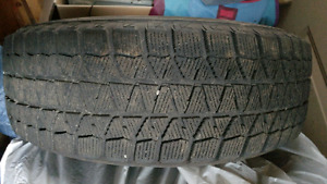 Almost new winter tires