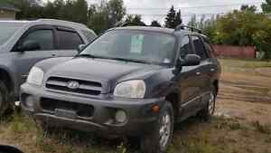 2006 hyundai Santa fe fully loaded