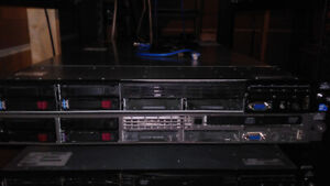 HP DL360 G5 - 8 cores @ 3GHz + 64GB RAM w/ disk trays