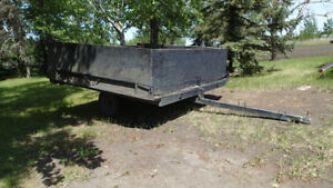 tilt snowmobile/utility trailer