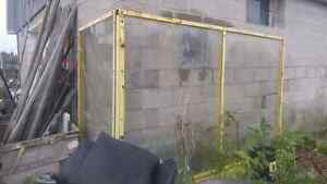 Safety Partition Wall.