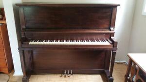 Willis Antique Upright Piano