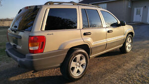 Jeep Grand Cherokee AWD -- only 160,000kms