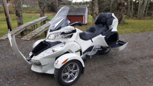 Can-AM Spyder RT Limited fully loaded