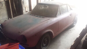 1972 Fiat Spider Project car.