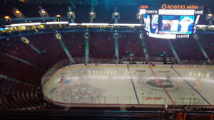 Vancouver Canucks vs. Toronto Maple Leafs -Wed Mar 6- Center Ice