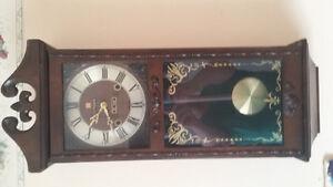 Vintage Grandfather Citizen Wall Clock