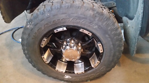 LT 275 65 R18 tires and rims