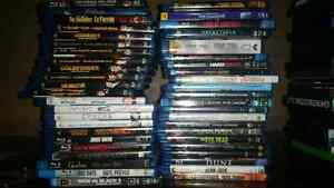 Assorted DVD and BluRay Movies