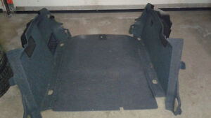 A4 B7 complete set of trunk panels