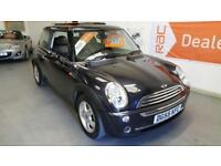 2005 55 reg MINI ONE - PANORAMIC ROOF - HALF LEATHER SEATS