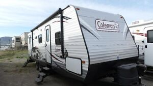 """2014 COLEMAN 262 BHS """"DOUBLE/DOUBLE BUNKS""""! REDUCED $3000!!"""