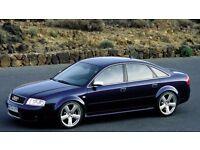 18 Inch RS6 Alloy Wheels & Tyres for Caddy Van, VW Golf, Audi A4, Passat, Touran, Jetta etc