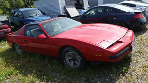 Parting out 1987 pontiac fire bird