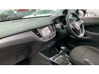 2019 Vauxhall CROSSLAND X 1.2 Turbo ecoTEC GPF SE (s/s) 5dr SUV Petrol Manual