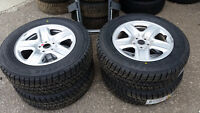 Brand New 245 65 17 Michelin winters on Toyota Venza OEM rims