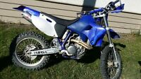 2001 Yamaha WR426 Powerful Trail Dirt Bike Good Condition