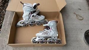 K2 Women's Rollerblades - Good Condition