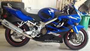 2006 CBR F4i - Last model year - Rare Blue and Black