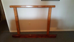 2 Fireplace Hardwood Mantels