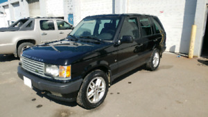2000 Range Rover HSE: Runs good, lots of cargo space