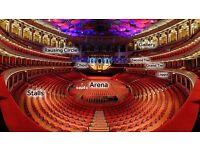 Tony Bennett *FANTASTIC SEATS* Royal Albert Hall 27 June
