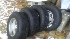 4 p235r 15 truck snow tires