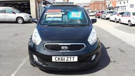 2012 KIA VENGA 3 1.6 Automatic From GBP6,995 + Retail Package