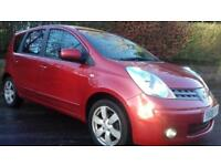 1 YR MOT F/S/H '08' Nissan Note 1.6 16v auto Tekna FOCUS ASTRA AUTOMATIC