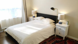 Furnished Bright 2 bedroom near Tunney's (Jan – April)