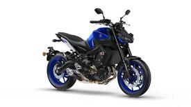 2017 Yamaha MT-09 847.00 cc