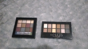 Maybelline ,NYX brand new eye shadow pallets