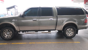 2003 king ranch cap mint shape with signal lights along top