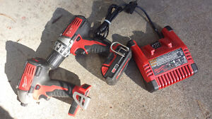 Milwaukee drill and driver  and charger for sale