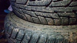 Two winter tires 245 70 17