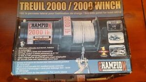 WINCH - Champion 2000 lb, complete with remote - NEW IN BOX