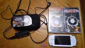 PSP, Games, Case, 4gb Card and Charger