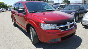 DODGE JOURNEY 2009 SEVEN PASSENGER