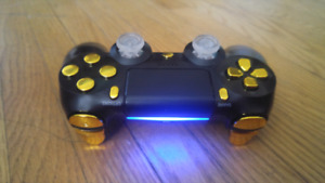 Gold Modified PS4 controller