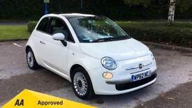 2012 Fiat 500 1.2 Lounge (Start Stop) with B Manual Petrol Hatchback
