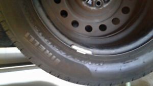 Pirelli Tyres with Rims