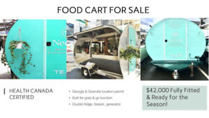FOOD TRUCK / TRAILER FOR SALE - FULLY EQUIPPED W ROAMING PERMIT