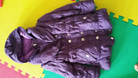 Toddler girl  purple winter jacket  4-5