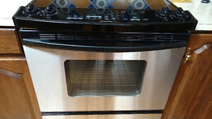 KitchenAid glass top convection oven.