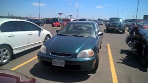 1997 Honda Civic LX w/ABS Sedan GREAT GAS MILEAGE!!!!!!