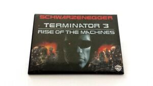 Rare 2003 Terminator 3 Movie Promo Button - Schwarzenegger