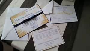 Wedding Invitations and Stationary Packages Kingston Kingston Area image 1