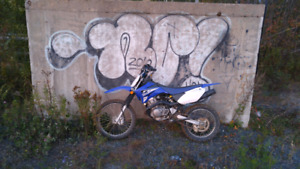 2015 yamaha ttr 125 up for trades needs nothing