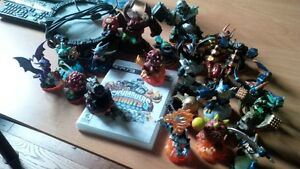 PS3 Skylander game and figures